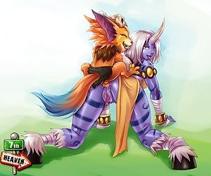 Soraka and Gnar by 7th Heaven