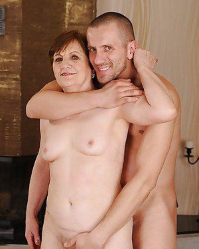 Sassy granny gets her hairy twat cocked up and takes a cumshot on her bush