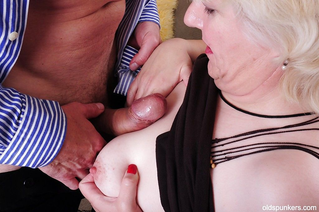 Fatty granny Toni loves BDSM and a taste of fresh cumshot on her face