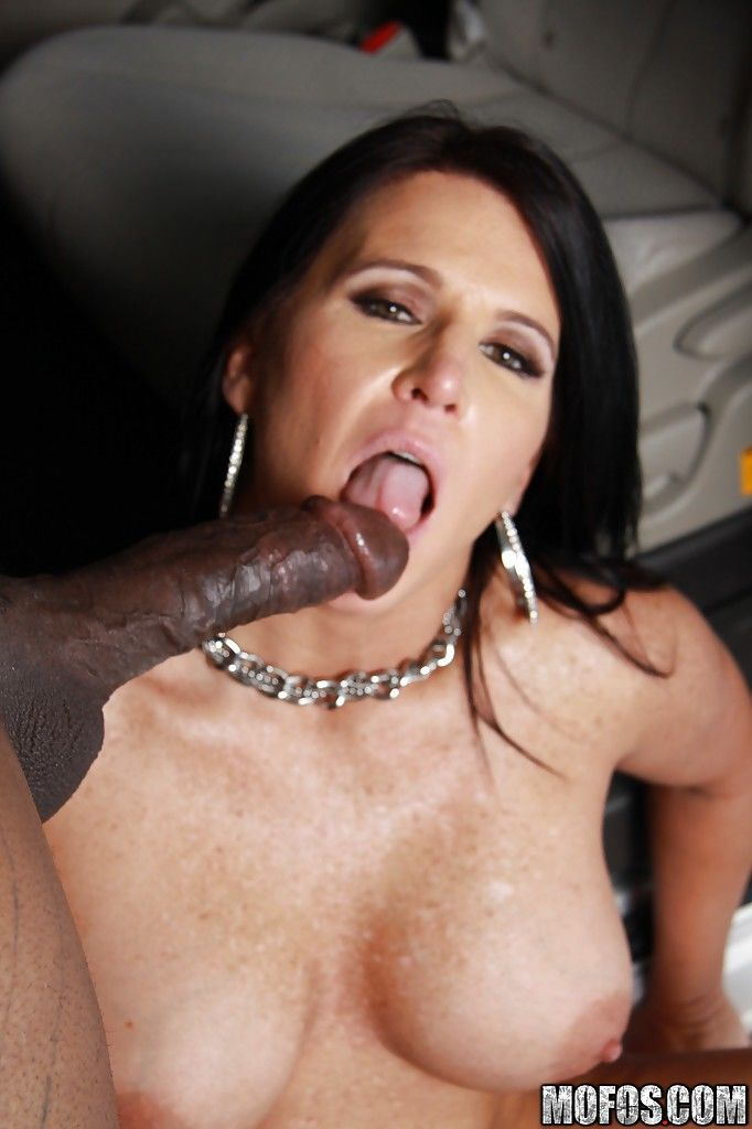 Sultry mature brunette Kendra Secrets is into interracial pussy pounding - part 2