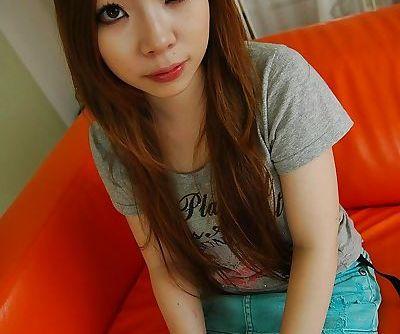 Asian teen Yuna..