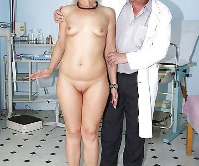 Mature blonde with..