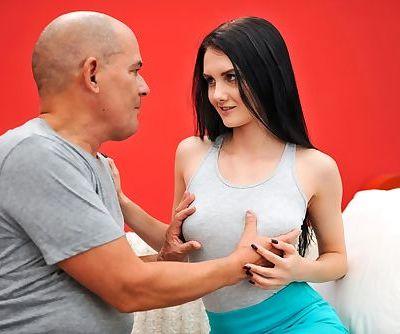 Euro teen Crystal Greenvelle gets..