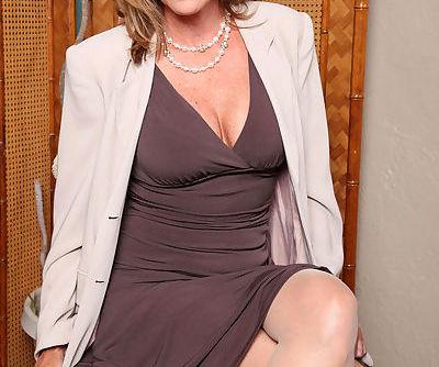 Classy older lady Jodi West..