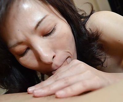 Hardcore Asian brunette Michiru..
