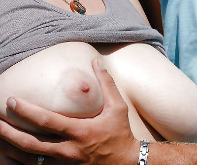 Busty amateur woman Carol having..