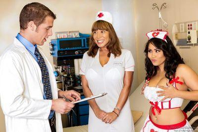 Asian nurse Jessica Bangkok gets hot meat injection at doctor\\\