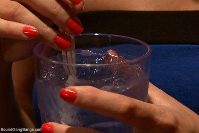 Lea lexis lives out a fantasy of leaving a bar with the bartender, and winding u