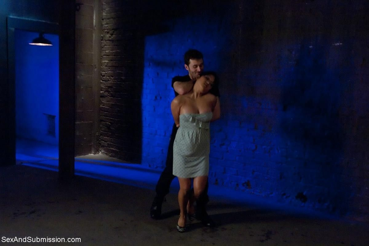 In this playful yet intense opening scene, lana violet wrestles with james deen