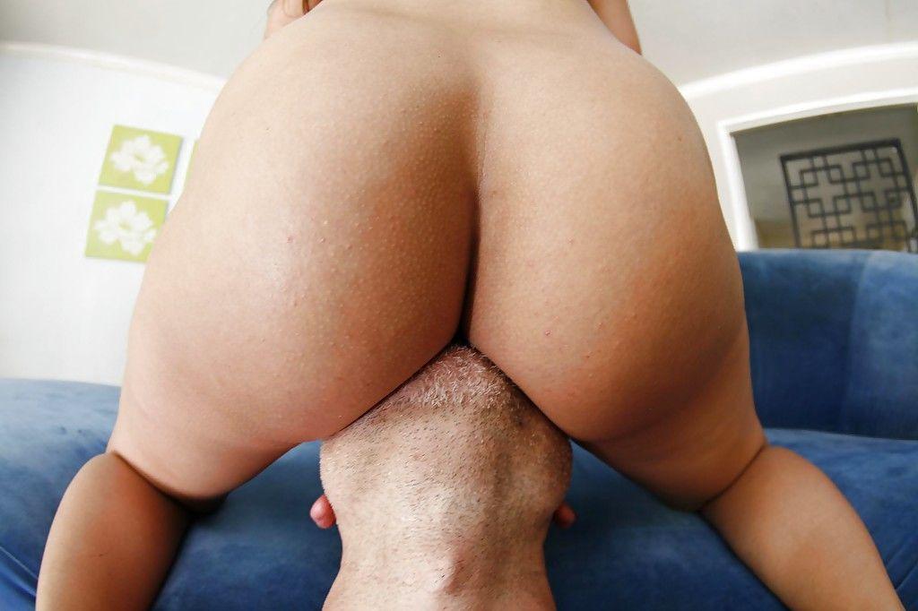 Hot ass brunette Olivia Wilder blows and fucks a huge stiff dick