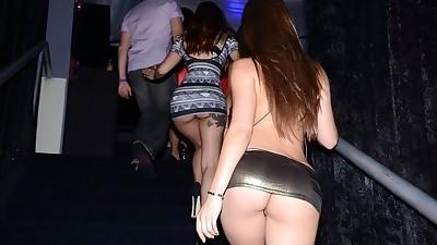 Club bound females enjoy and..