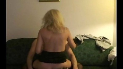 Couple fucking in living room