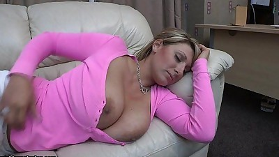 Pink shirt boobs out sleepingDemi..