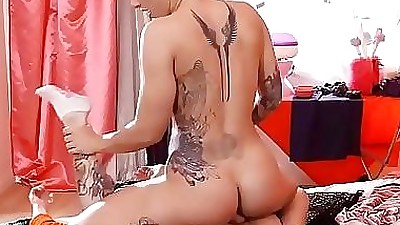 Sinful and Gorgeous Punk Chick Is..