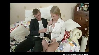 Russian Babe Teen Rough Fuck