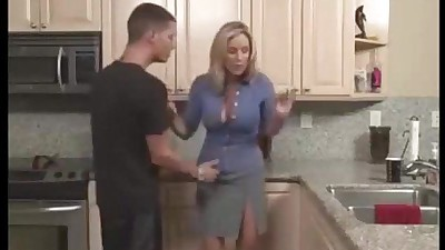 milf in kitchen from..
