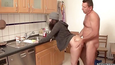 German MILF Seduce to Fuck by..