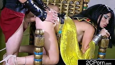 Exotic Egyptian Goddess Rina..