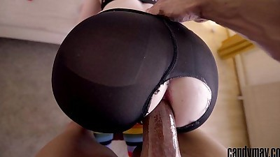 Candy MayBig Black Cock double..