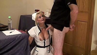 Nurse Gape mature anal whore..