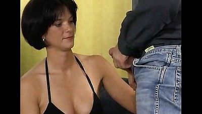 German brunette fuck with..