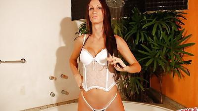 Latina tranny Leticia Close takes..