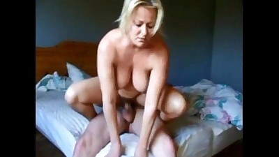 Mature couple on real homemade