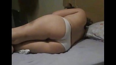 Booty wife gets fucked on real..