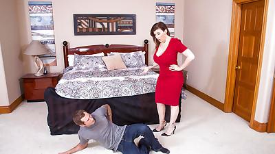Slutty mom with big tits Sara Jay..