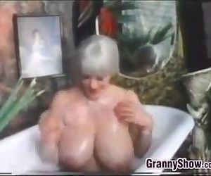 Busty Grandma In..