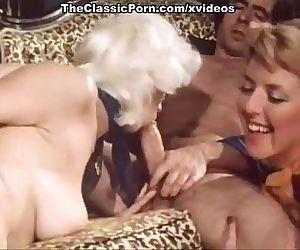 Vintage group sex orgy