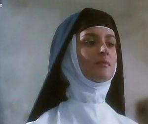 Eva Grimaldi nude from La monaca..