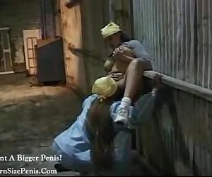 lesbian hottie vintage porn video
