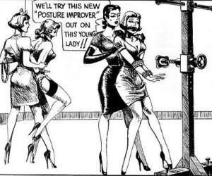 Vintage Lesbian Mistress Bondage..