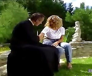 Hot MILF Anal Fucked Outdoor in..