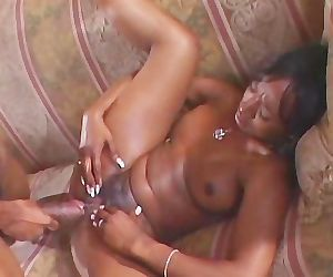 Ebony Chick Couch..