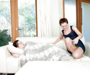 Teen dykes Annabelle Lee and Katherine F lick and finger..