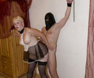 Amateur mistress gets fucked in hardcore fetish scene..