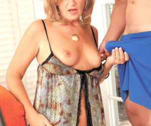 Over 40 lady Crystal Jewels gets butt fucked by her boy toy