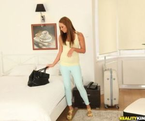 European amateur babe Angel Blade is obsessed with..