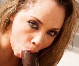 Petite pornstar Kristina Rose works a BBC up her tight ass..