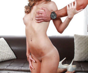 Young chick Kimmy Granger having shaved cunt played with..
