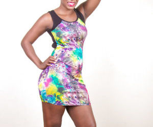 Ebony amateur chick Celina really boasts of her massive..