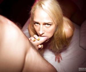 Big guy fucks anal hole of amateur blonde Chelsey while..