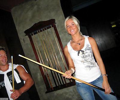 Sweet sinful blondie getting cock hammered