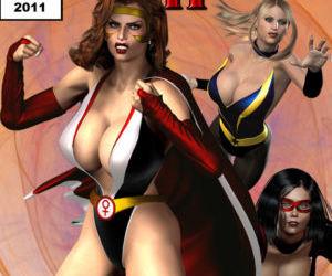 Legion Of Superheroines 29 - 46