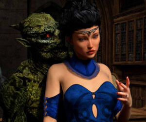 Hibbli3D – Sorceress Lori - Sold To Demons