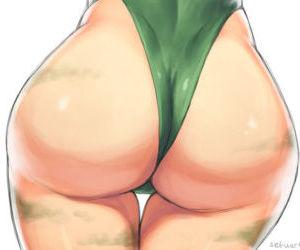 Street Fighter girls big ass