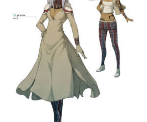 GRAVITY DAZE ARTBOOK - part 7