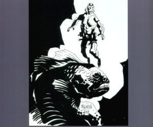 The Art of Hellboy - part 7